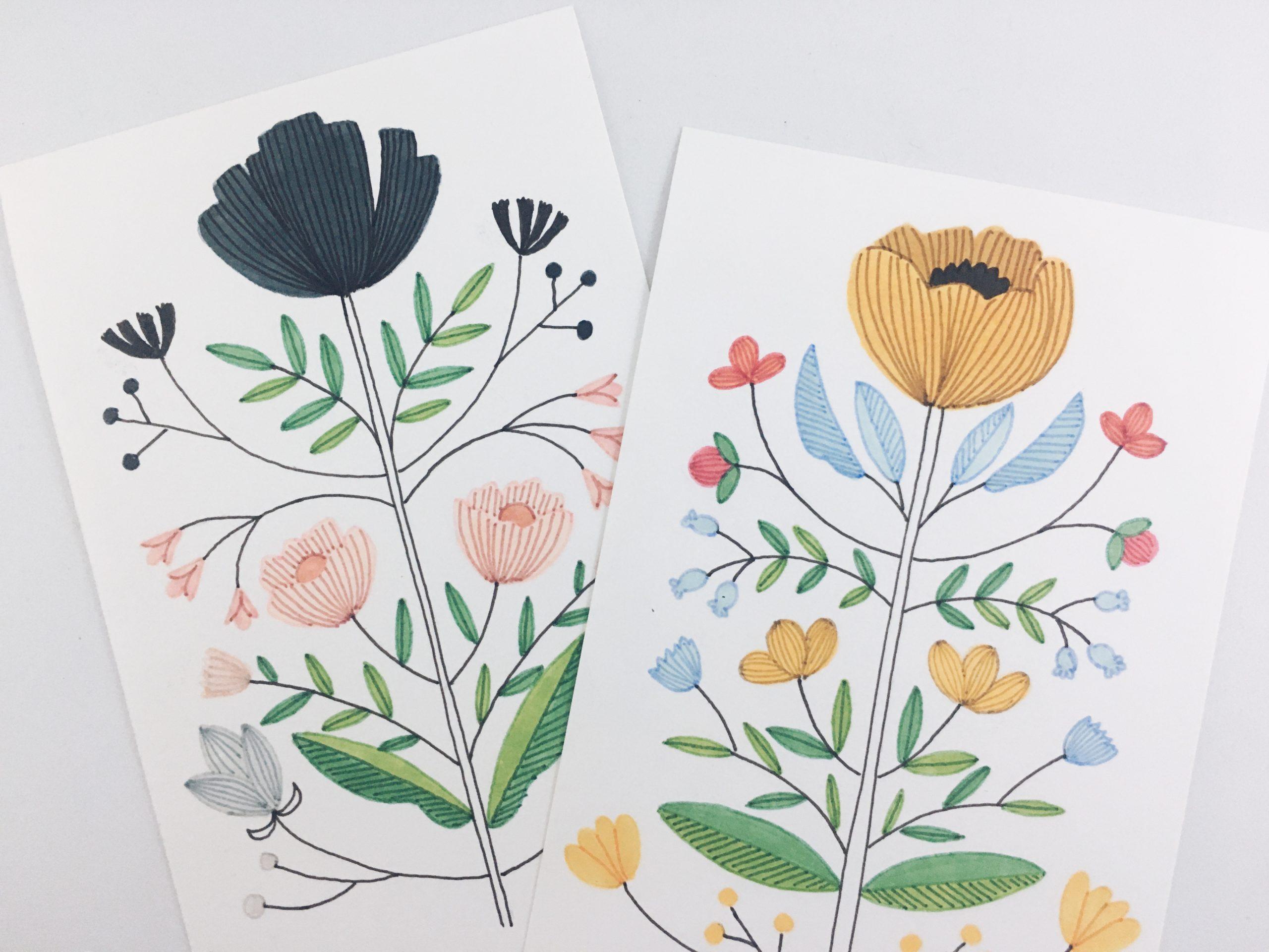 Ilustrações Escandinavas