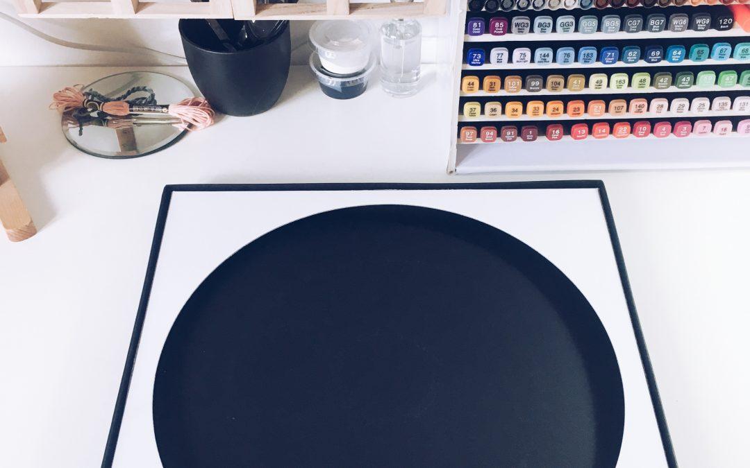 De uma caixa de prato pode sair arte