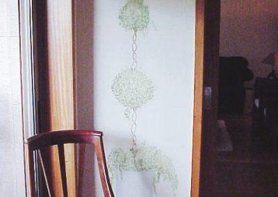 Arbustos na Casa de Jantar